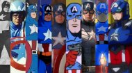Captain America Dress Up Game